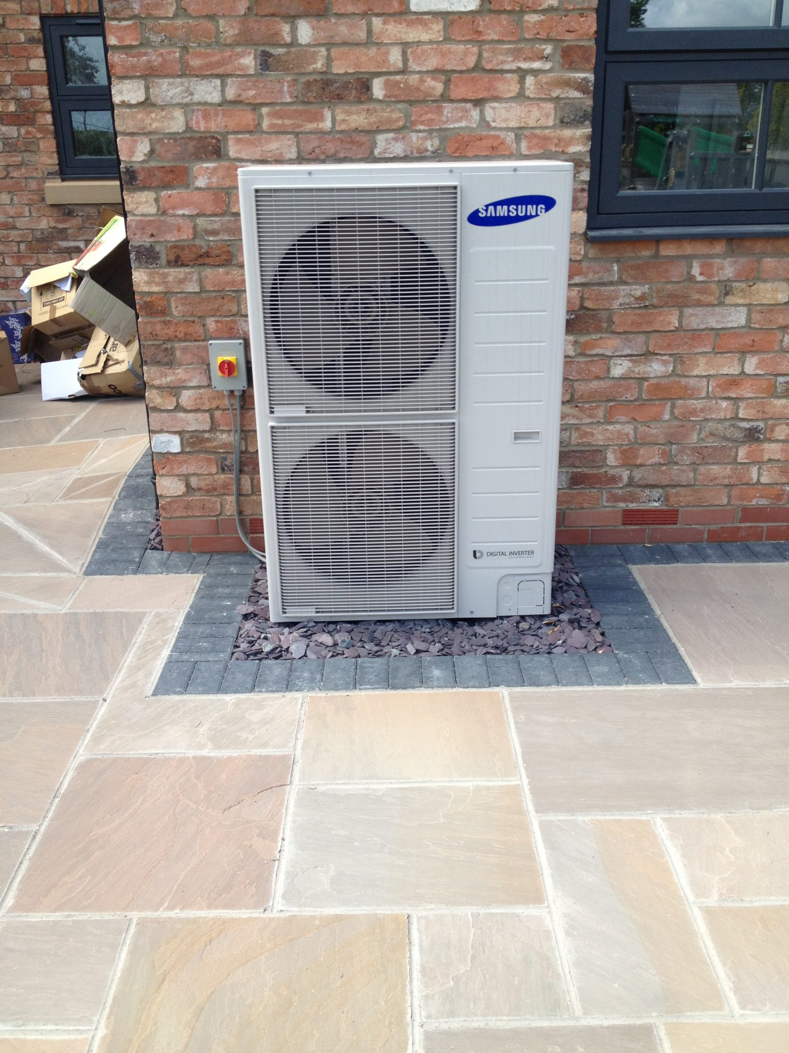 New Build Air Source Heat Pump Farndon