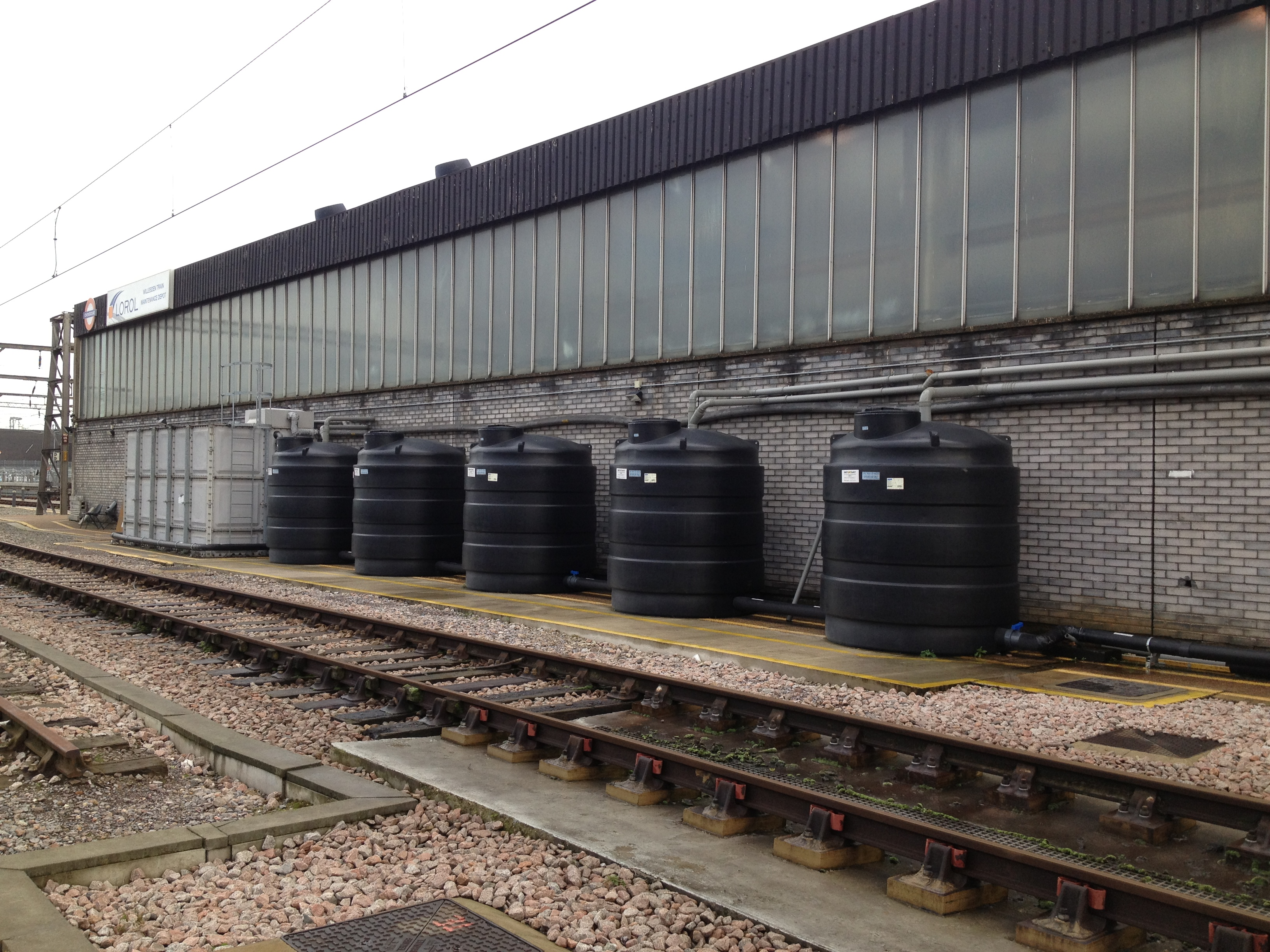Rainwater Harvesting London Overground 2
