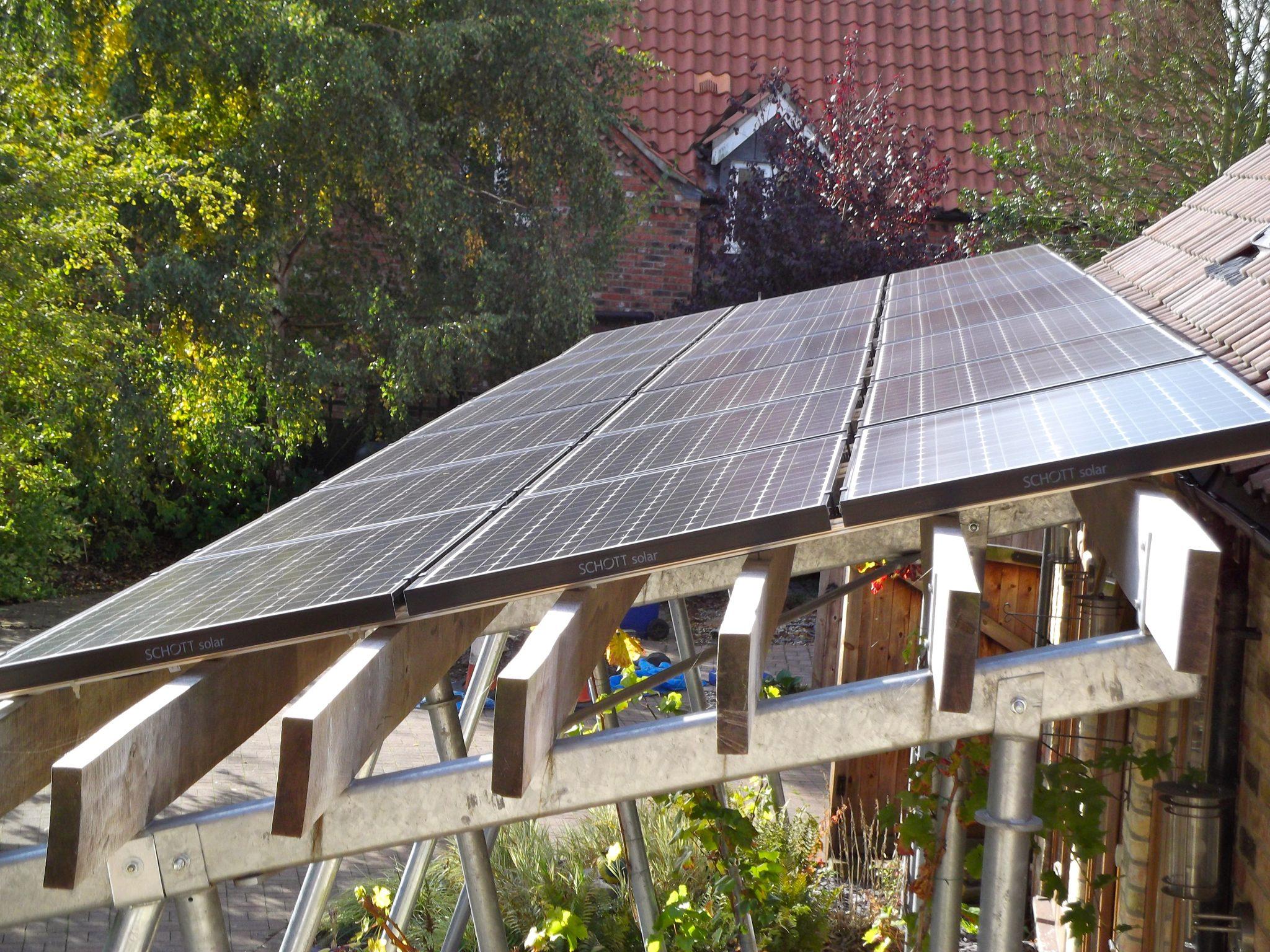 Solar PV Dunholme Lincoln 1