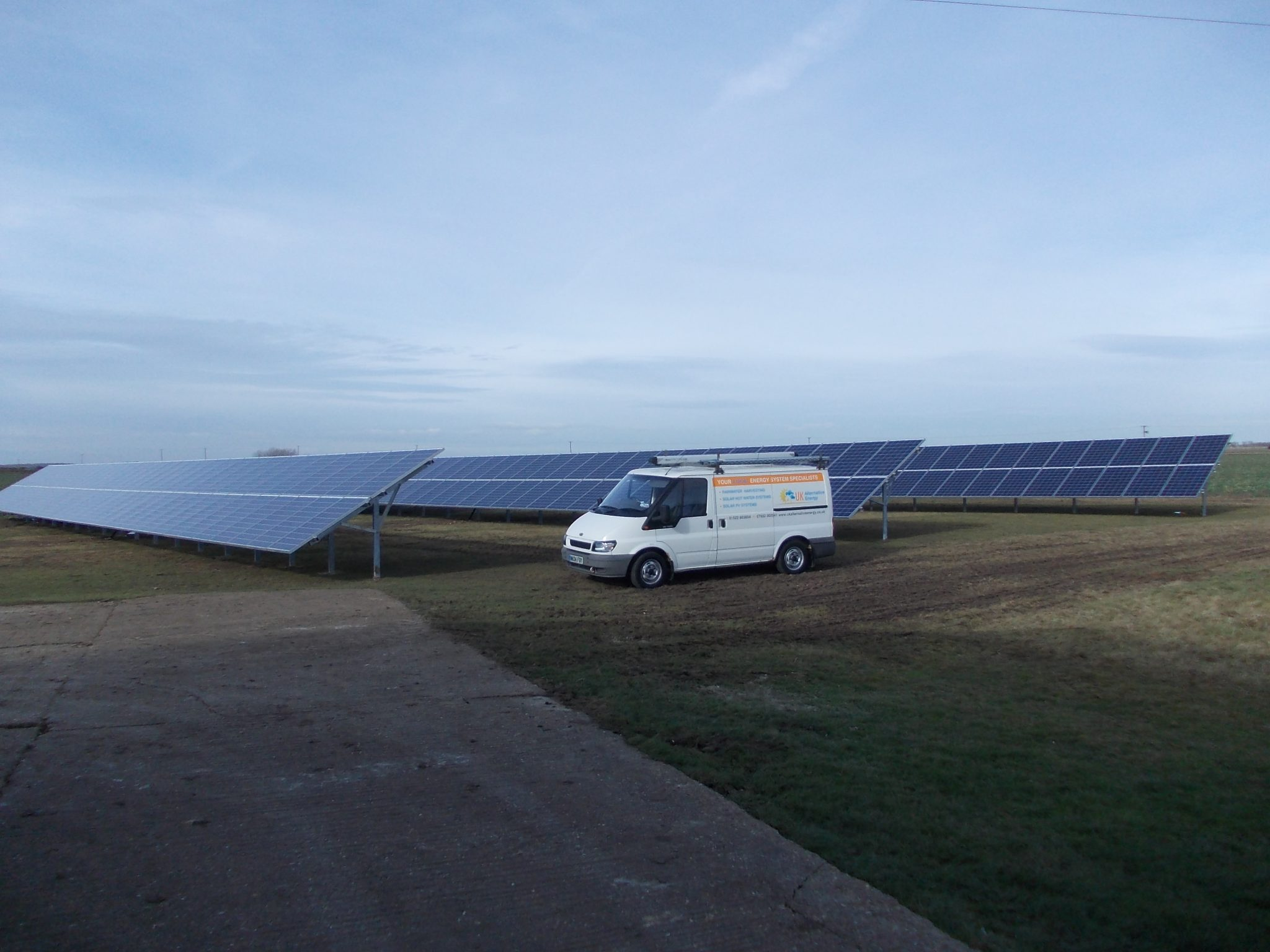 Solar PV White House Farm South Kyme Fen 18