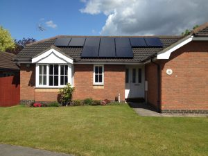 Solar PV Willow Close Skellingthorpe Lincoln 5