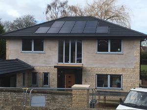 Air Source Heat Pump & Solar PV – New Build, Branston