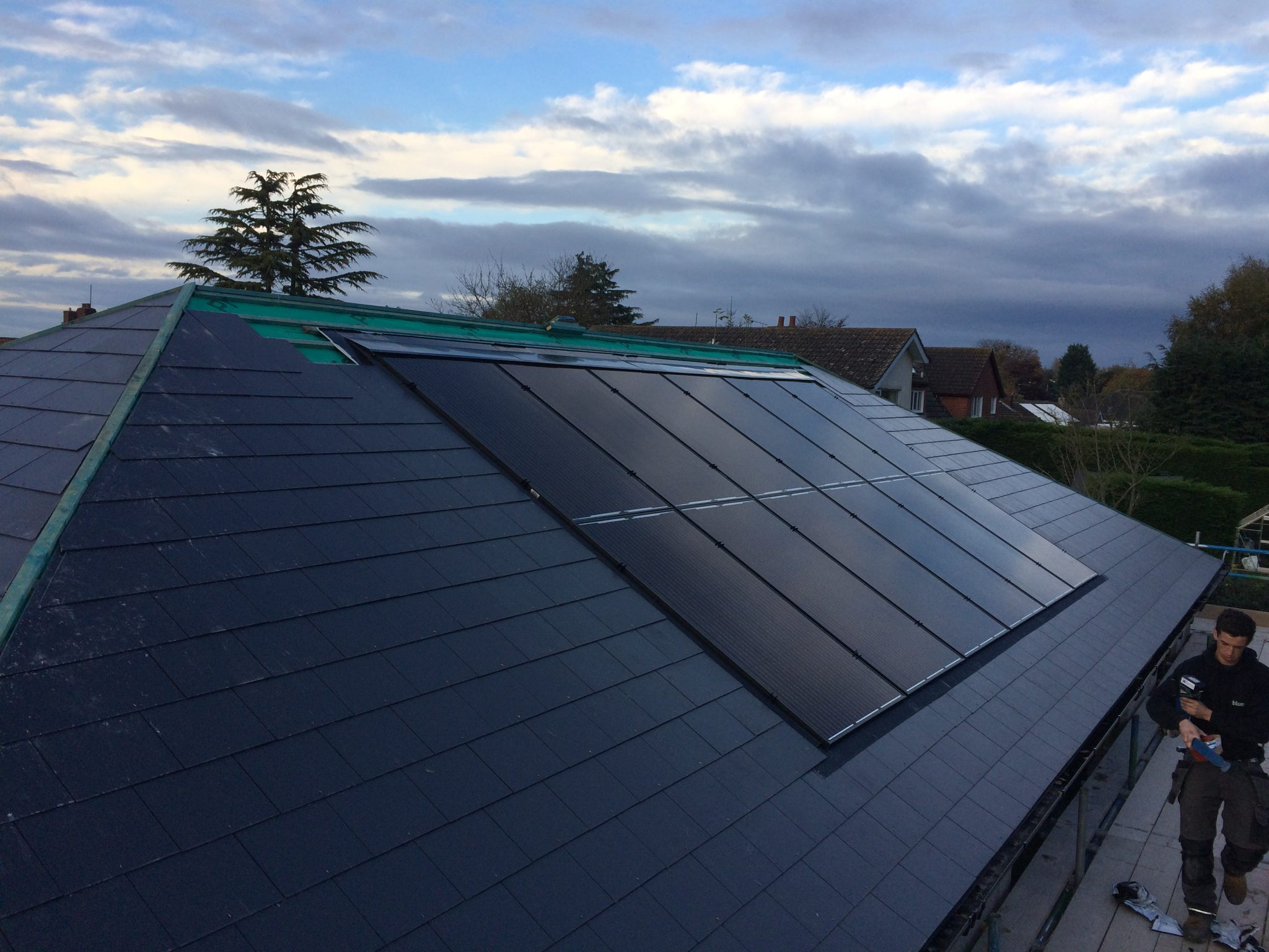 Ground Source Heat Pump & Solar PV – New Build, Faldingworth