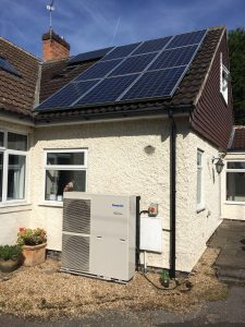 Air Source Heat Pump Solar PV Battery Storage