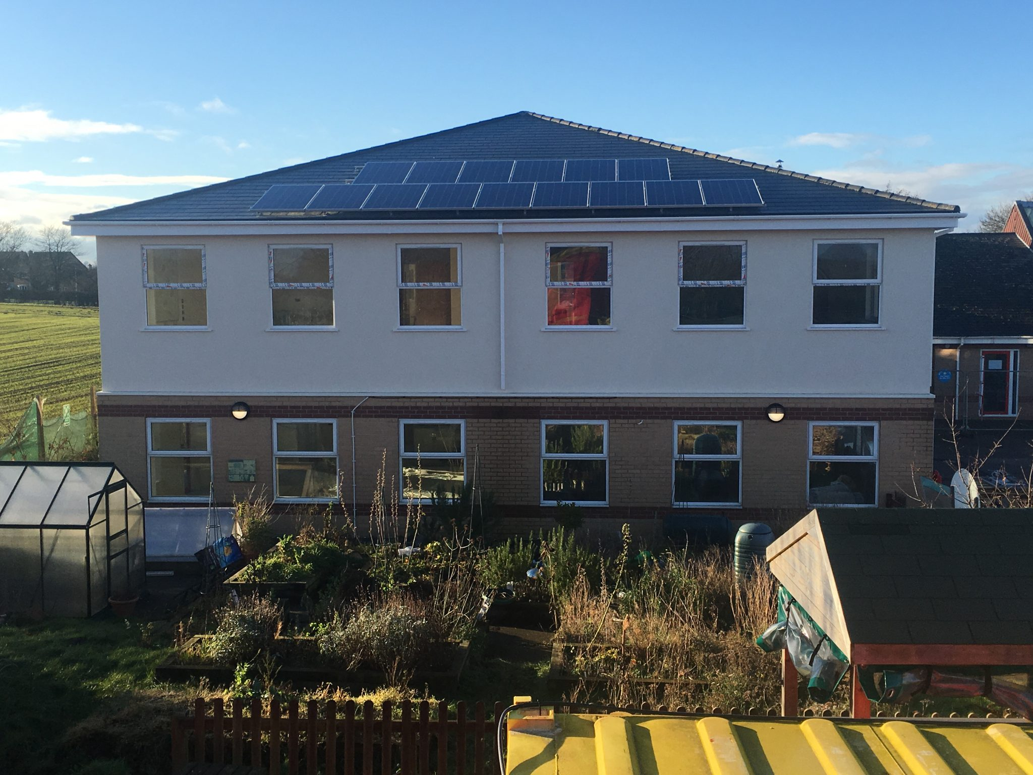 Solar PV - Ellison Boulters Church of England Academy