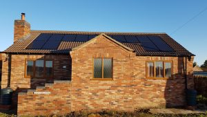 Air Source Heat Pump & Solar PV – New Build, Lincoln