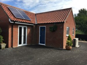 Air Source Heat Pump & Solar PV – New Build, Minting