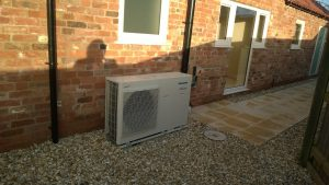 Air Source Heat Pump - New Build, Harby